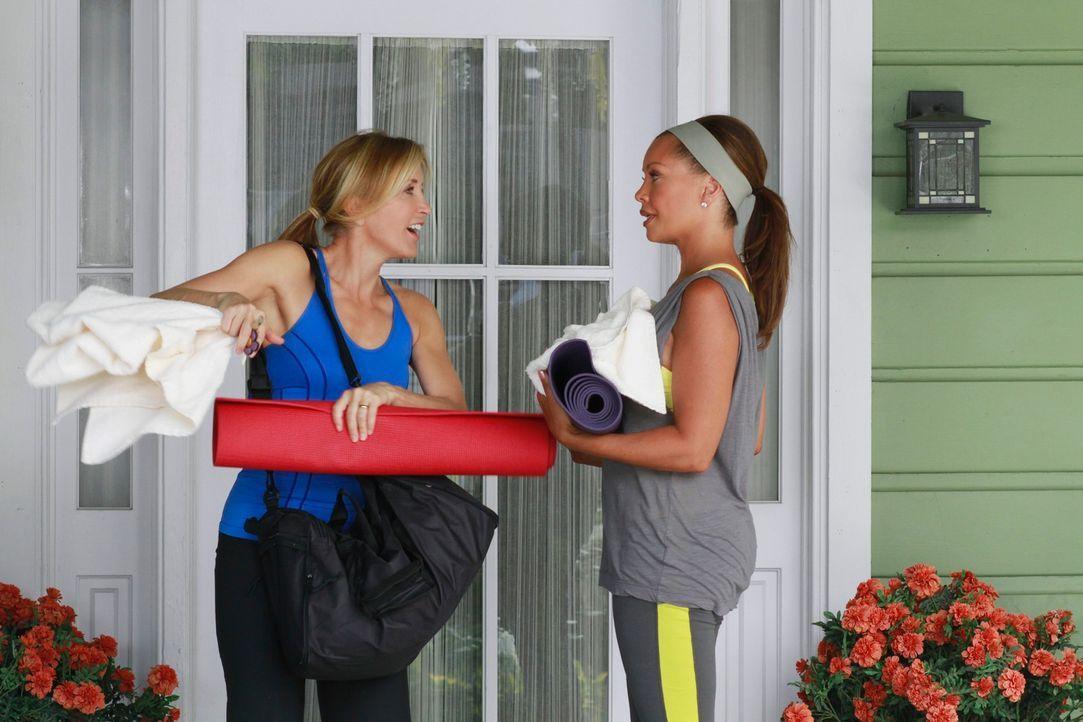 Während Bree Besuch von Tochter Danielle erhält und sehr überrascht ist, als sie die Wahrheit über deren neue Geschäftsidee herausfindet, haben Lyne... - Bildquelle: ABC Studios