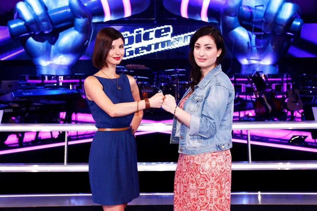 TVOG-Stf03-SD10-02-Akina-Laura-Richard-Huebner-TEASER - Bildquelle: SAT.1/ProSieben/Richard Huebner