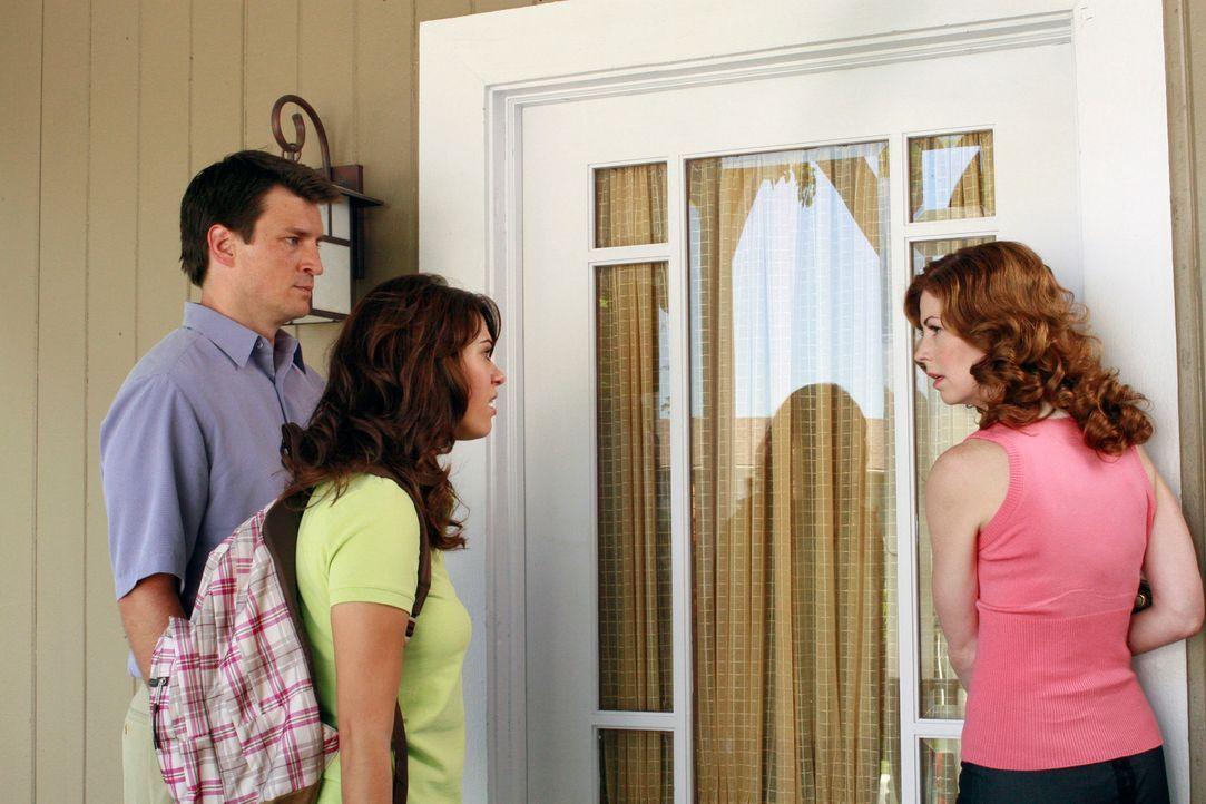 Verheimlichen Adam (Nathan Fillion, l.) und Katherine (Dana Delany, r.) ihrer Tochter Dylan (Lyndsy Fonseca, M.) etwas? - Bildquelle: ABC Studios