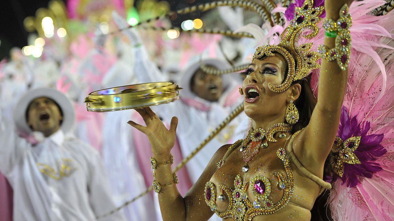 Brasilianischer Karneval - Bildquelle: Getty Images/AFP
