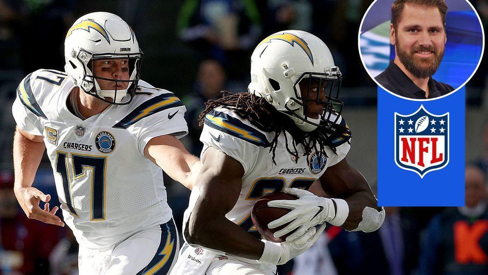 Sebastian Vollmer traut Chargers-Quarterback Philip Rivers viel zu gegen die... - Bildquelle: Getty Images/ran
