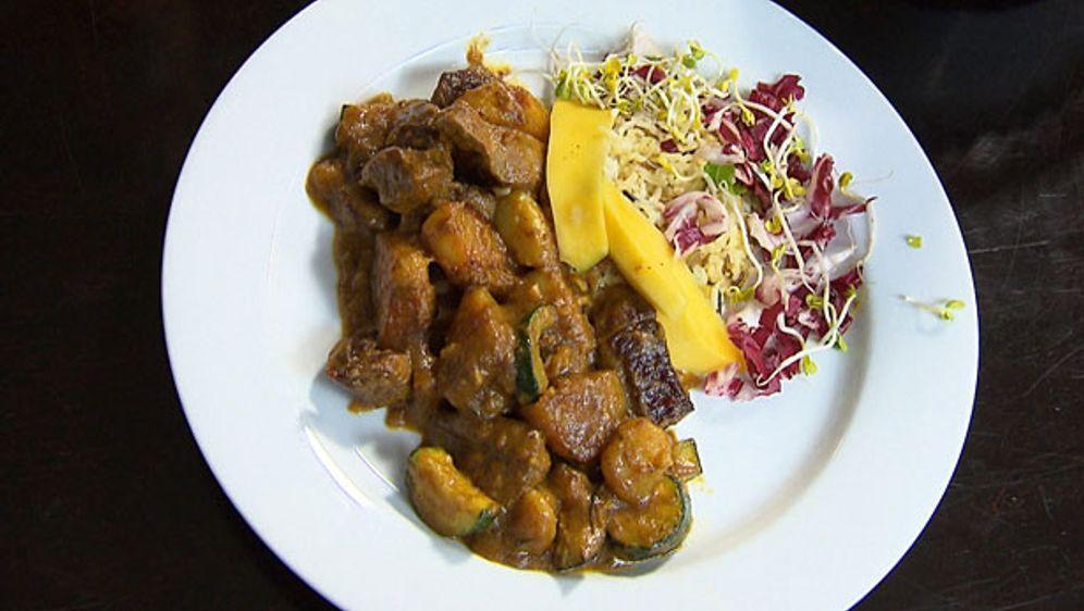 Lamm-Kartoffel-Curry