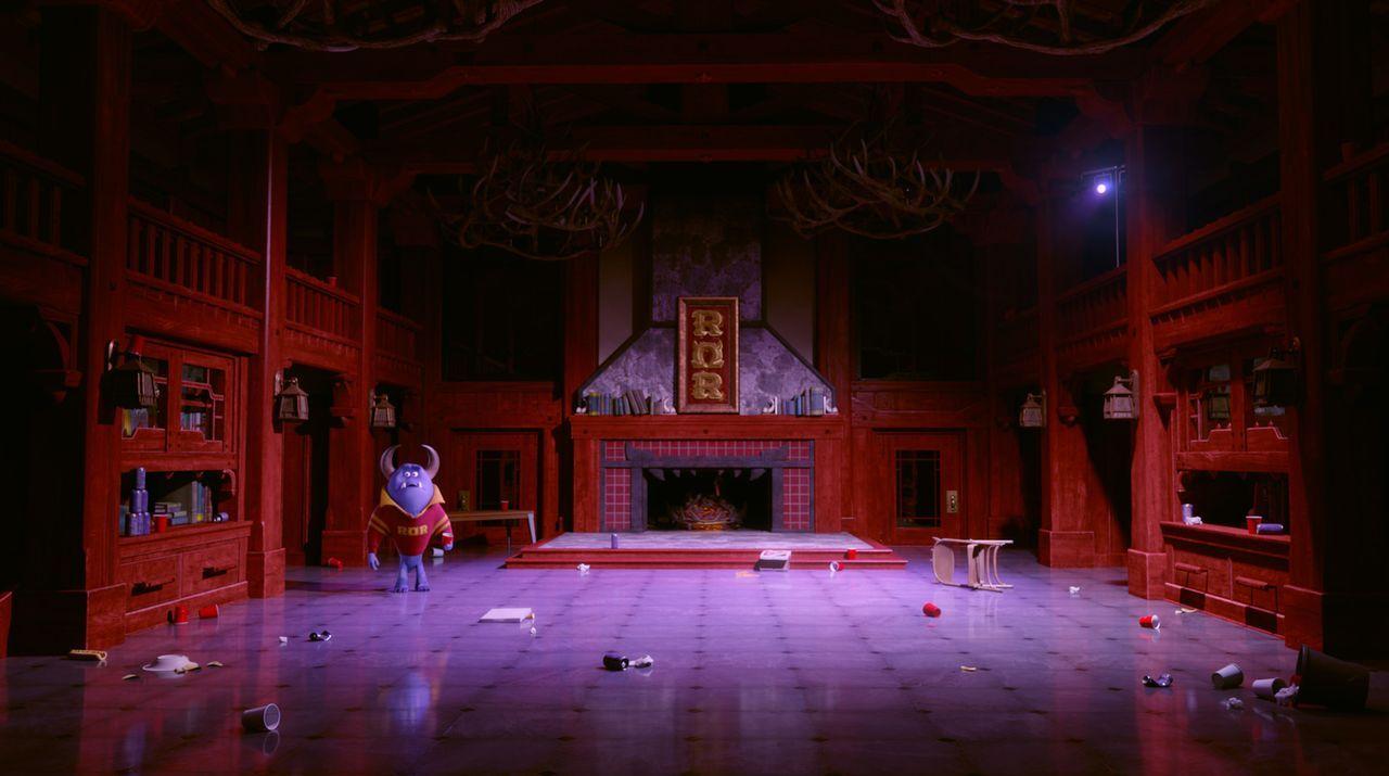 Wo sind nur die ganzen Gäste hin? Sind sie etwa geklaut worden? - Bildquelle: Disney/ Pixar