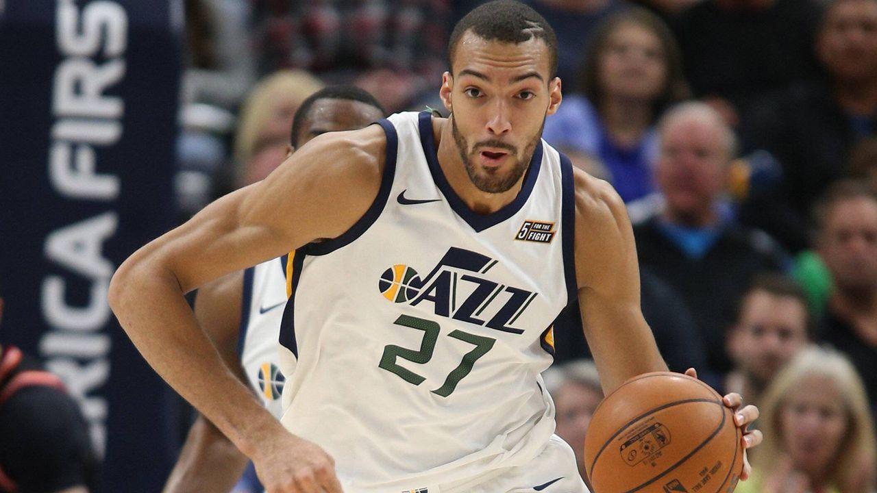 Rudy Gobert (Utah Jazz) - Bildquelle: imago/Agencia EFE