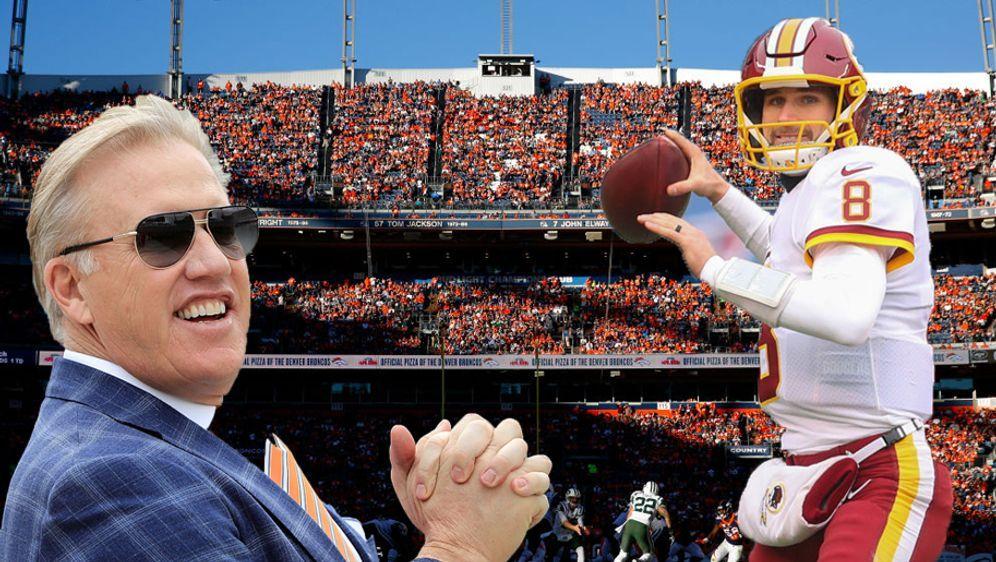 Denver Broncos: General Manager Elway trifft Cousins-Agent