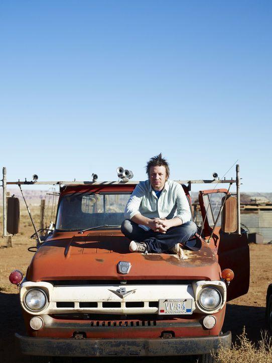 Jamie begibt sich auf seiner Amerikareise in das Reservat der Navajo-Indianer. Dort möchte er die original amerikanische Küche entdecken. - Bildquelle: David Loftus 2009