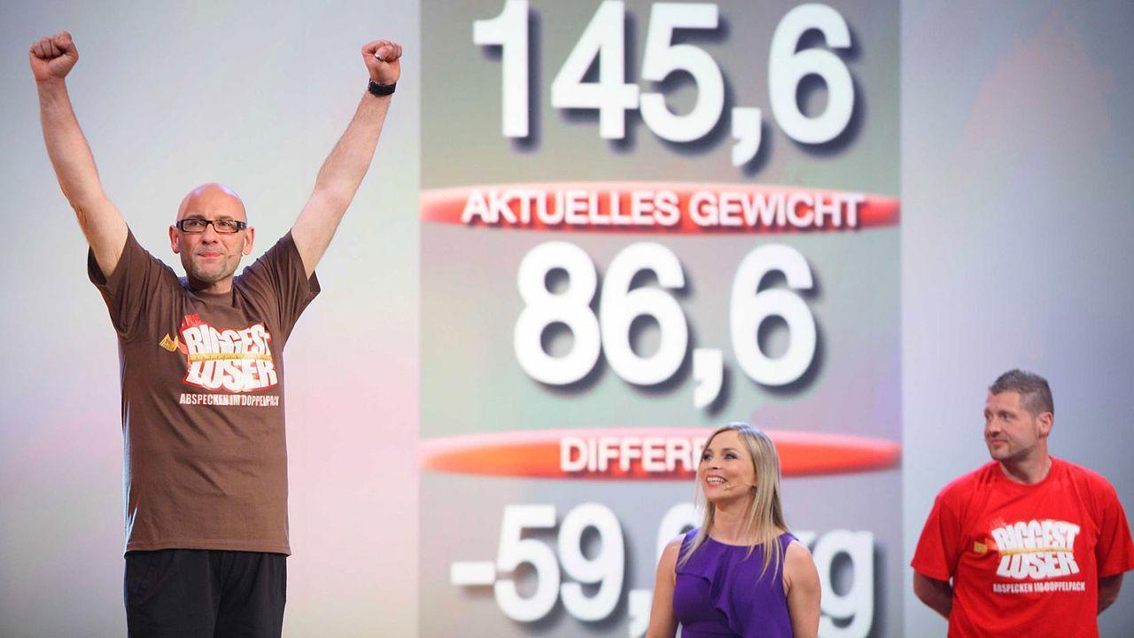 the-biggest-loser-finale-gewinner-roger2-kabeleins 1600 x 900 - Bildquelle: kabel eins