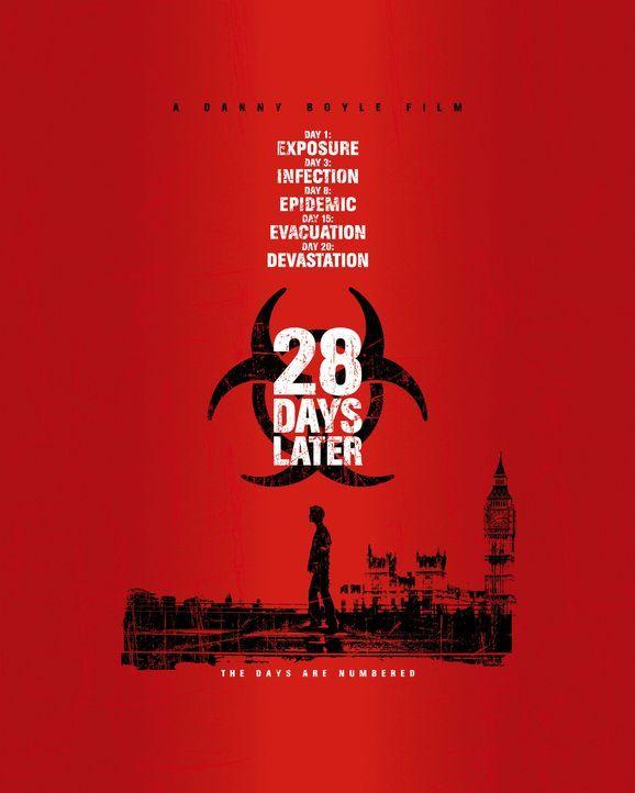 28 Days Later - Plakatmotiv - Bildquelle: 2002 Twentieth Century Fox Film Corporation. All rights reserved.