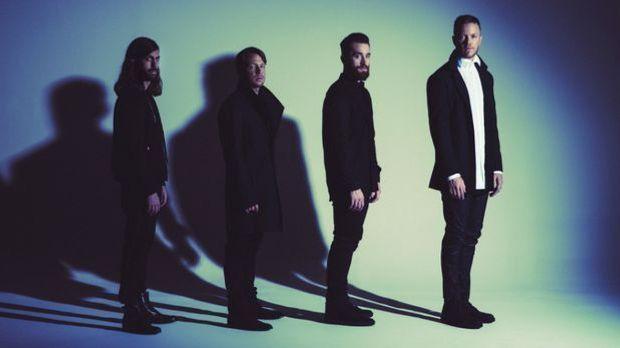 Imagine Dragons mit ihrem neuen Album Evolve