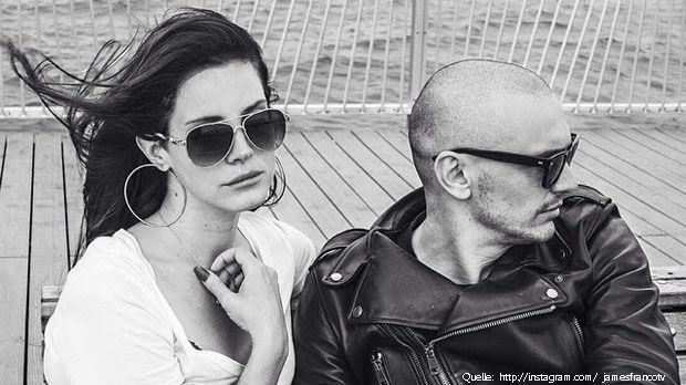 Lana-Del-Rey-James-Franco-Schnappi-Instagram-jamesfrancotv - Bildquelle: instagram.com/jamesfrancotv