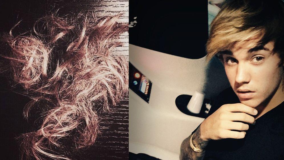 Justin Bieber Hat Haare Geschnitten Neue Frisur Für Boxkampf Des