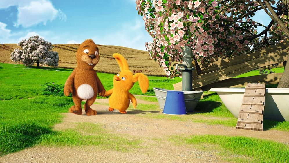 Keinohrhase und Zweiohrküken - Bildquelle: Warner Brothers