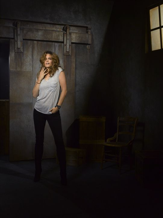 (5. Staffel) - Die hartnäckige Detektivin Kate Beckett (Stana Katic) hat eine Vorliebe für außergewöhnliche Fälle, die in kein Schema passen. - Bildquelle: ABC Studios