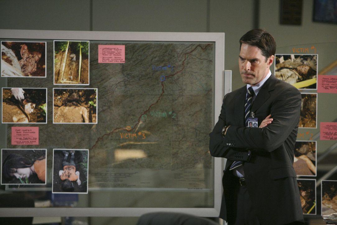 Ein Fall, der bereits vier Jahre vergangen ist, bereitet Aaron Hotchner (Thomas Gibson) Kopfzerbrechen ... - Bildquelle: Touchstone Television