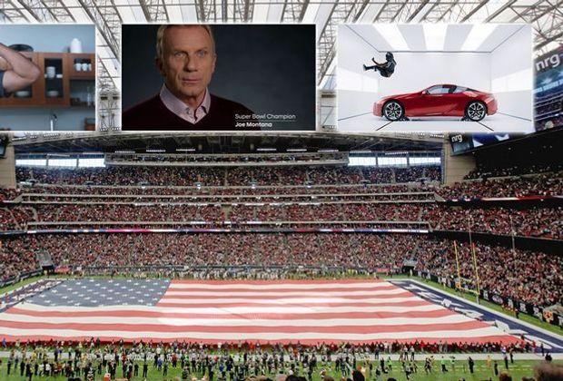 Werbung beim Super Bowl