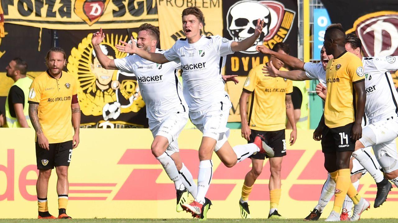 1. Runde gegen Dynamo Dresden  - Bildquelle: imago/osnapix