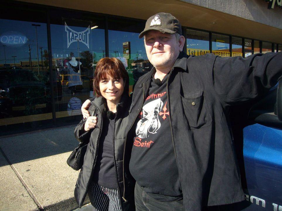 Thomas Schiller und Manuela Ludwig sind mit ihrem Sohn Martin von Hessen nach Texas ausgewandert. Dort betreibt das Paar jetzt zwei Geschäfte, in d... - Bildquelle: kabel eins