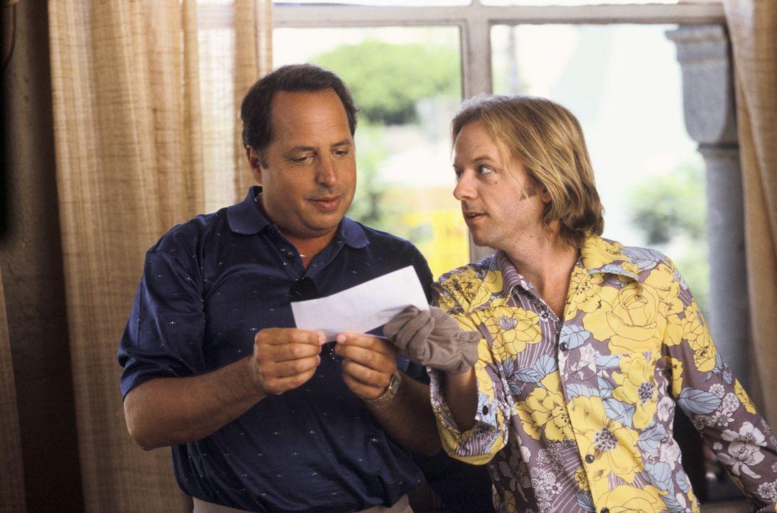 Kann Ex-Kinderstar Dickie (David Spade, r.) Sidney (Jon Lovitz, l.) zu einem dubiosen Deal überreden ... - Bildquelle: Mark Fellman Paramount Pictures