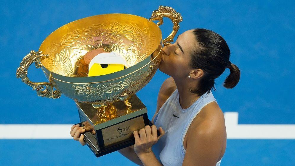 Garcia ist für das WTA-Finale qualifiziert - Bildquelle: AFPSIDNICOLAS ASFOURI