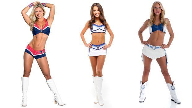 NFL-Cheerleader - Bildquelle: NFL