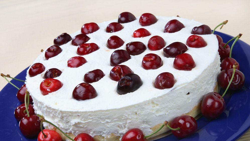 Philadelphia Torte Mit Kirschen Rezept