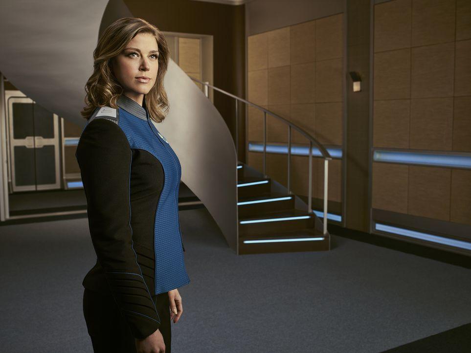 (1. Staffel) - Als Kelly Grayson (Adrianne Palicki) zur 1. Offizierin der Orville ernannt wird, ahnt sie nicht, wie schlimm es für sie sein wird, un... - Bildquelle: Noah Schutz 2017 Fox and its related entities.  All rights reserved.