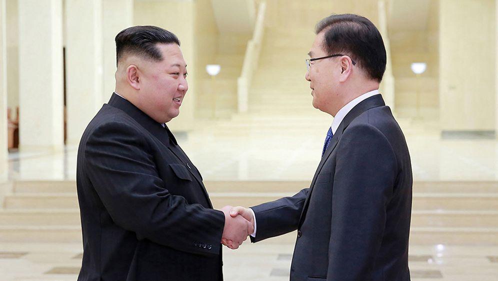- Bildquelle: KCNA via KNS via AP/dpa
