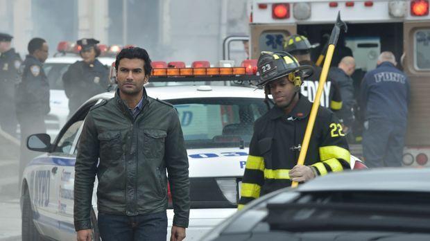 Auch Gabe (Sendhil Ramamurthy) ist auf der Suche nach Muirfield. Wird er Erfo...