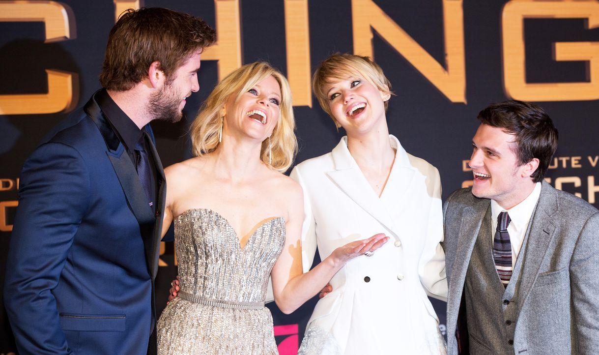 Hunger-Games-Catching-Fire-Deutschland-Premiere-02-dpa - Bildquelle: dpa
