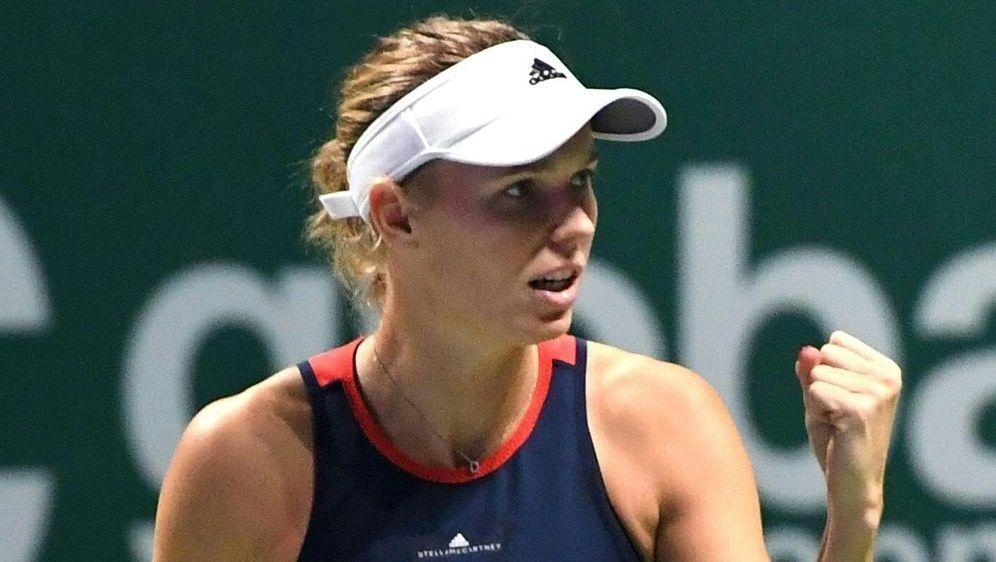 WTA-Saisonfinale: Caroline Wozniacki schlägt Pliskova - Bildquelle: AFPSIDRoslan RAHMAN