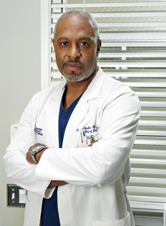 (2. Staffel) - Halbgott in weiß: Dr. Richard Webber (James Pickens, Jr.) ... - Bildquelle: Touchstone Television