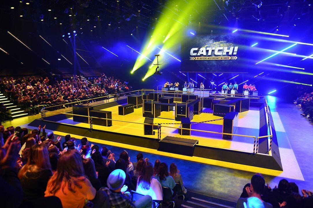 CATCH! Die Deutsche Meisterschaft im Fangen - Bildquelle: Willi Weber SAT.1/Willi Weber