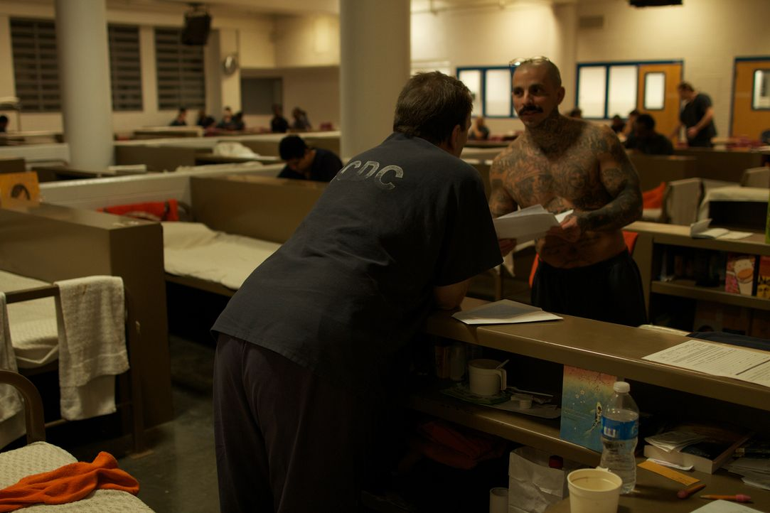 Auf engsten Raum zusammengedrängt, kommt es zwischen den Insassen des Clark County Detention Center in regelmäßigen Abständen zu gewaltsamen Auseina... - Bildquelle: James Peterson National Geographic Channels/ Part2 Pictures