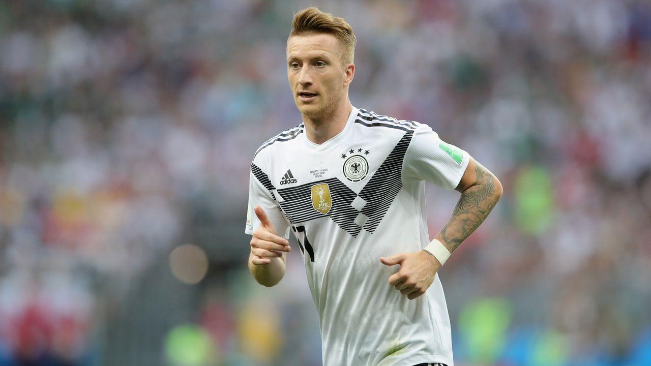Mittelfeld: Marco Reus - Bildquelle: 2018 Getty Images
