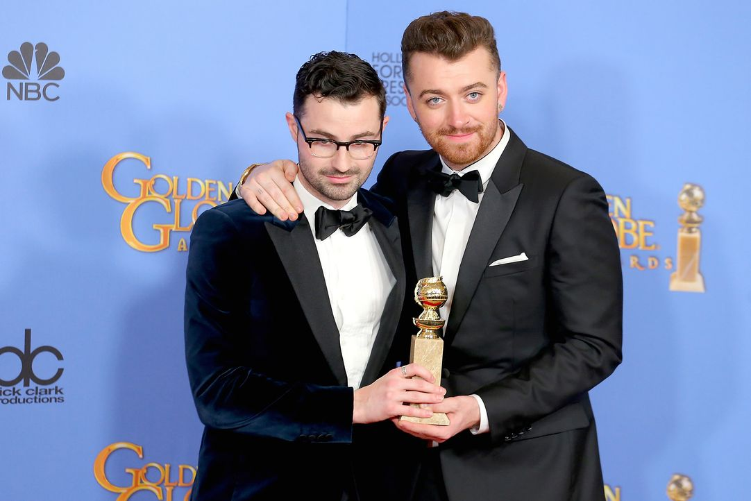 Jimmy-Napes-Sam-Smith-Writings-On-the-Wall-in-Spectre-getty-AFP - Bildquelle: getty-AFP