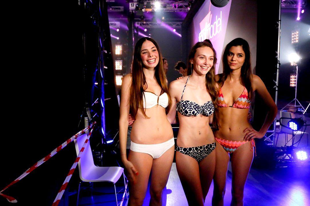 GNTM-Stf10-Epi03-Bikiniwalk-Muc-17-ProSieben-Richard-Huebner - Bildquelle: ProSieben/Richard Hübner
