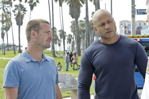 Navy CIS: L.A. - Ein neuer Fall beschäftigt Callen (Chris O'Donnell, l.) und...