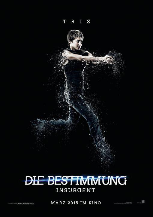 """Shailene Woodley spielt die Hauptfigur Beatrice Prior. Tris schließt sich den """"Ferox"""" an und muss damit klarkommen, dass sie eine Unbestimmte ist. - Bildquelle: 2014 Concorde Filmverleih GmbH"""