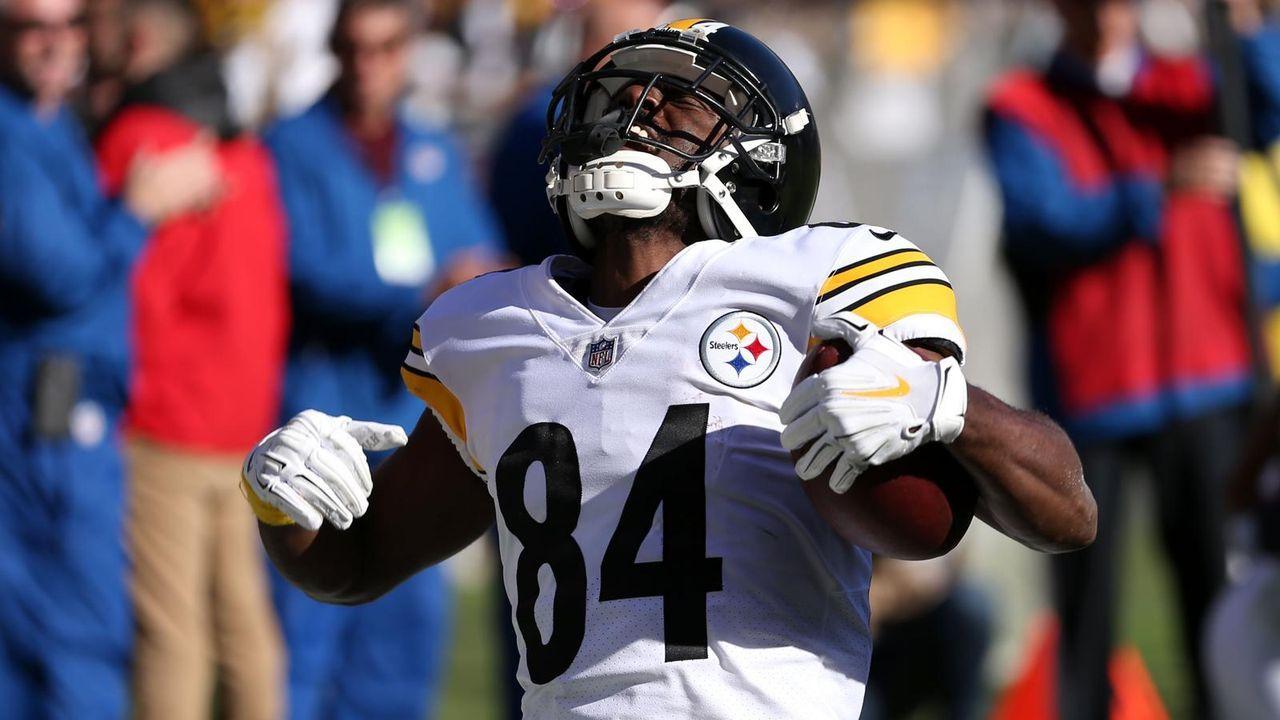 Wide Receiver: Antonio Brown (Pittsburgh Steelers) - Bildquelle: Getty