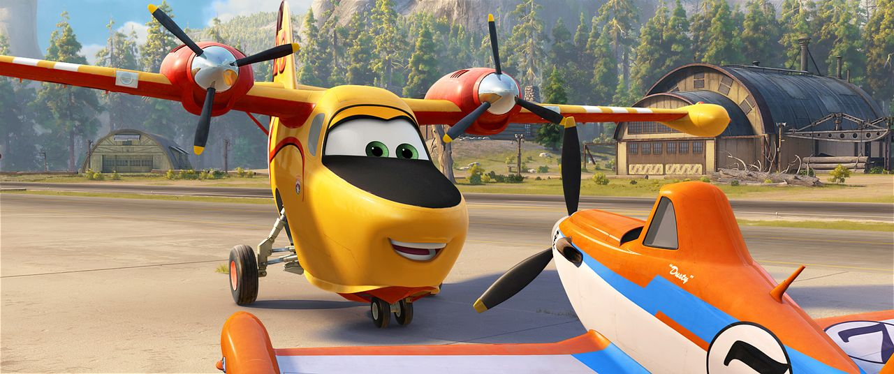 Planes-2-Immer-im-Einsatz-01-Walt-Disney - Bildquelle: 2014 Disney Enterprises, Inc. All Rights Reserved.