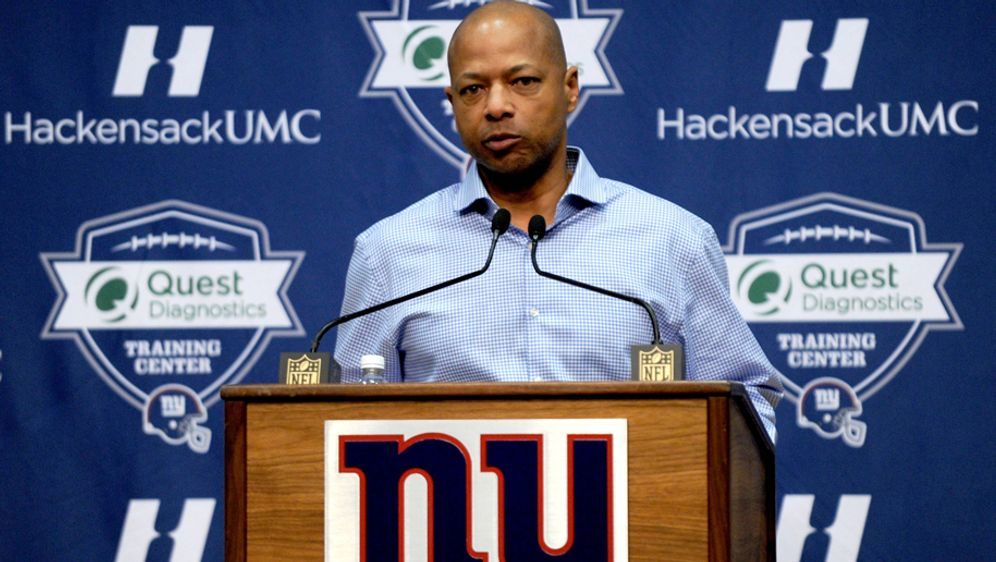 Steht bei den New York Giants in der Kritik: General Manager Jerry Reese - Bildquelle: imago/UPI Photo