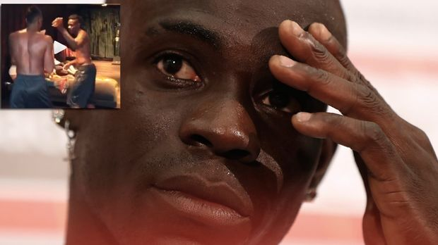 Versuchte Sich Als MMA Fighter Mario Balotelli C This Content Is Subject To Copyright