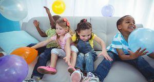 Originelle Ideen für Faschingsspiele? Mit Luftballons können Sie die Kleinen...