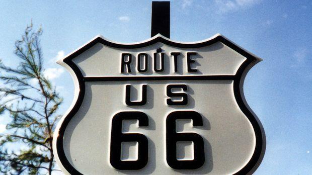 Auf fast 4.000 Kilometern Länge durchquert diese Straße acht US-Bundesstaaten...