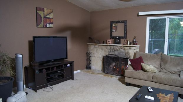 Ein nicht sonderlich reizvolles Wohnzimmer möchte Josh Temple umwandeln ... ©...