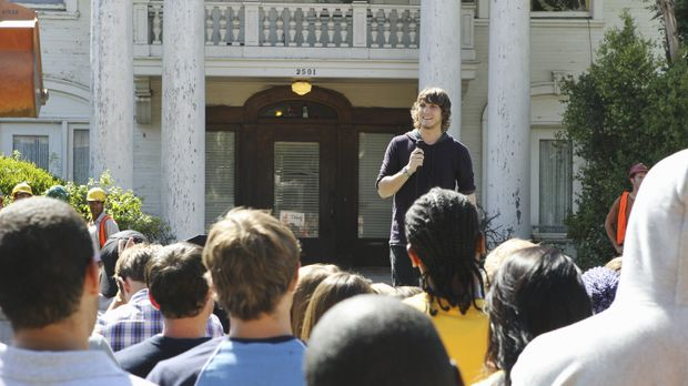 Kämpft gegen den Abriss des Kappa Tau Hauses: Cappie (Scott Michael Foster, h...