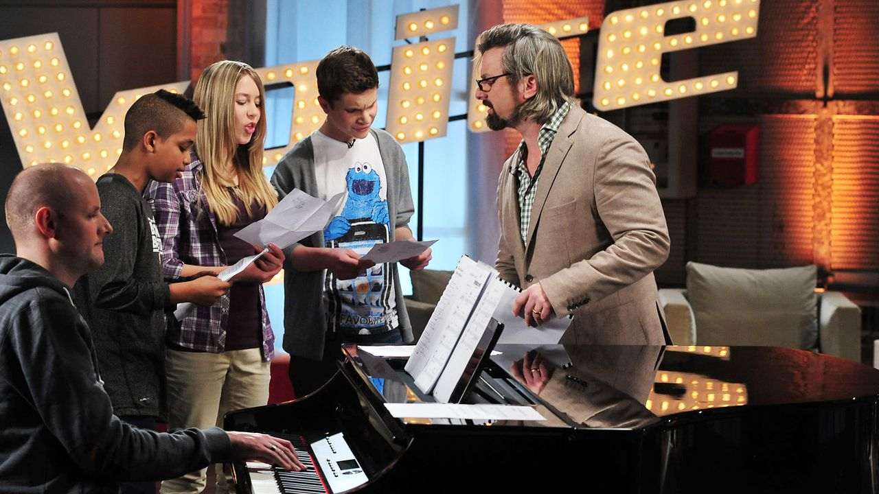 The-Voice-Kids-Stf02-Epi05-Danyiom-Lukas-Michele-13-SAT1-Andre-Kowalski - Bildquelle: SAT.1/Andre Kowalski