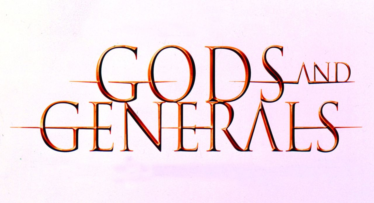 """GODS AND GENERALS"" - Logo - Bildquelle: Warner Brothers"