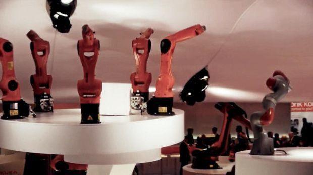 Tanzende Maschine