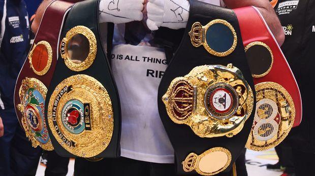 boxen gewichtsklassen weltmeister